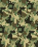 Modèle à la mode de camouflage de Digital Illustration Libre de Droits