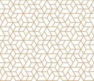 Modèle à la mode simple géométrique abstrait de deco de grille Images libres de droits