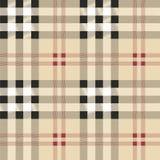 Modèle écossais de tissu Photos libres de droits