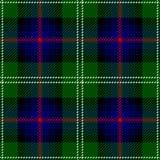 Modèle écossais sans couture de plaid de tartan de Sutherland de clan illustration libre de droits