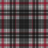 Modèle écossais sans couture de tartan de vecteur Photos libres de droits