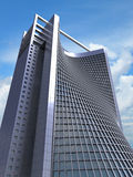 modèle 3D de structure de bureau Photo libre de droits