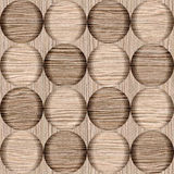 Modèle abstrait de bulle - texture soufflée en bois de cannelure de chêne Image libre de droits