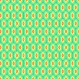 Modèle abstrait de cercles lumineux sur le vert illustration libre de droits