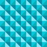 Modèle abstrait de cube conique par 3D, vecteur illustration libre de droits