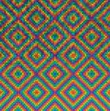 Modèle abstrait de fond de maille de polygone Photo stock