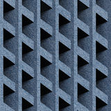 Modèle abstrait de panneautage - modèle sans couture - tissu de blues-jean Photographie stock libre de droits