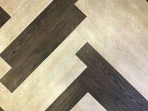 Modèle abstrait de plancher de station de MRT Photographie stock