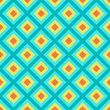 Modèle abstrait de rouge, jaune et bleu lumineux illustration stock