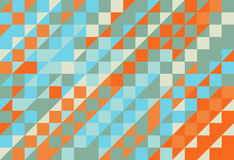 Modèle abstrait de texture de triangle Photo stock