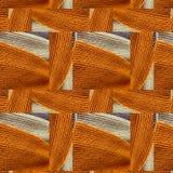 Modèle abstrait des chapeaux tricotés Photographie stock