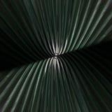 Modèle abstrait en verre de wavey radial dramatique Images stock