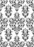 Modèle abstrait, fond floral Images stock
