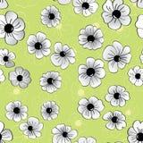 Modèle abstrait, fond floral Image libre de droits