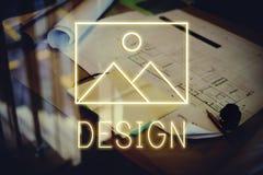 Modèle abstrait Graphic Concept d'inspiration de création images libres de droits