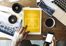 Modèle abstrait Graphic Concept d'inspiration de création photo libre de droits