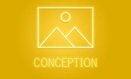Modèle abstrait Graphic Concept d'inspiration de création photographie stock