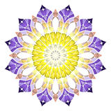 Modèle abstrait lumineux, mandala Images stock
