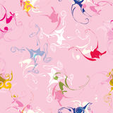 Modèle abstrait, modèle sans couture, fond abstrait coloré, texture moderne, fond rose Image libre de droits