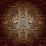 Modèle abstrait peu commun Collage créatif à la mode Illustration peu commune illustration stock
