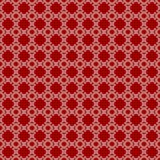 Modèle abstrait rouge et blanc sans couture illustration de vecteur