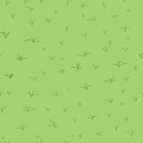 Modèle abstrait sans couture avec l'herbe verte Photo stock