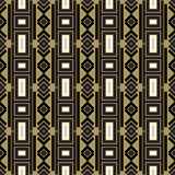 Modèle abstrait sans couture dans le style ethnique Photos stock