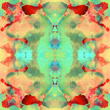 Modèle abstrait sans couture de kaléidoscope Illustration de Vecteur
