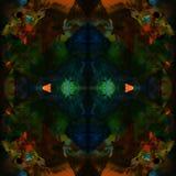 Modèle abstrait sans couture de kaléidoscope Illustration Stock