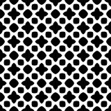 Modèle abstrait sans couture de vecteur noir et blanc Papier peint abstrait de fond photographie stock libre de droits
