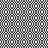 Modèle abstrait sans couture de vecteur noir et blanc Papier peint abstrait de fond Illustration de vecteur images stock