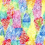 Modèle abstrait sans couture floral Image stock