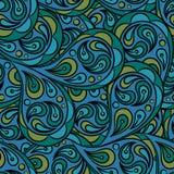 Modèle abstrait sans couture illustration de vecteur