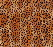 Modèle abstrait sans couture sur une texture de léopard de peau, serpent photos libres de droits