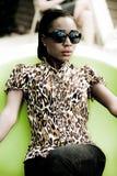 Modèle africain images libres de droits