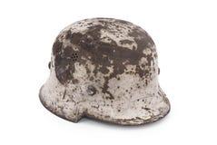 modèle allemand du casque m40 de bataille images libres de droits