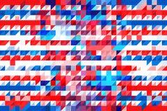 Modèle americana illustration de vecteur