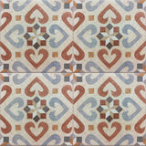 Modèle andalou, tuiles espagnoles, conception géométrique de mosaïque Photographie stock