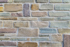 Modèle approximatif coloré de briques Photos libres de droits