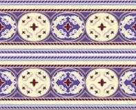 Modèle arabe d'ornement d'étoile de mosaica photographie stock
