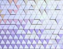 Modèle architectural de l'illustration 3D abstraite Images libres de droits