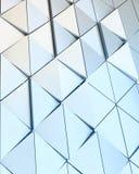 Modèle architectural de l'illustration 3D abstraite Photographie stock