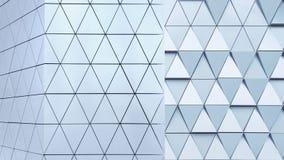 Modèle architectural de l'illustration 3D abstraite Image libre de droits