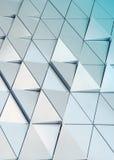 Modèle architectural de l'illustration 3D abstraite Image stock