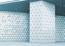 Modèle architectural de l'illustration 3D abstraite Photo stock