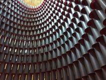 Modèle architectural des cylindres photos libres de droits