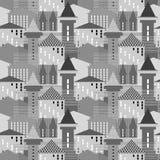 Modèle architectural sans couture Photo stock