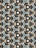 Modèle Art Fantasy Background de kaléidoscope Photo stock