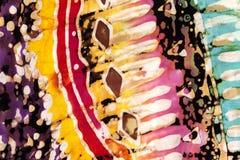Modèle artistique coloré d'illustration Photo libre de droits