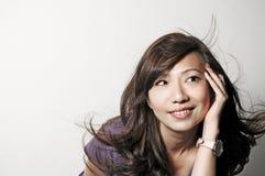 Modèle asiatique Photos libres de droits
